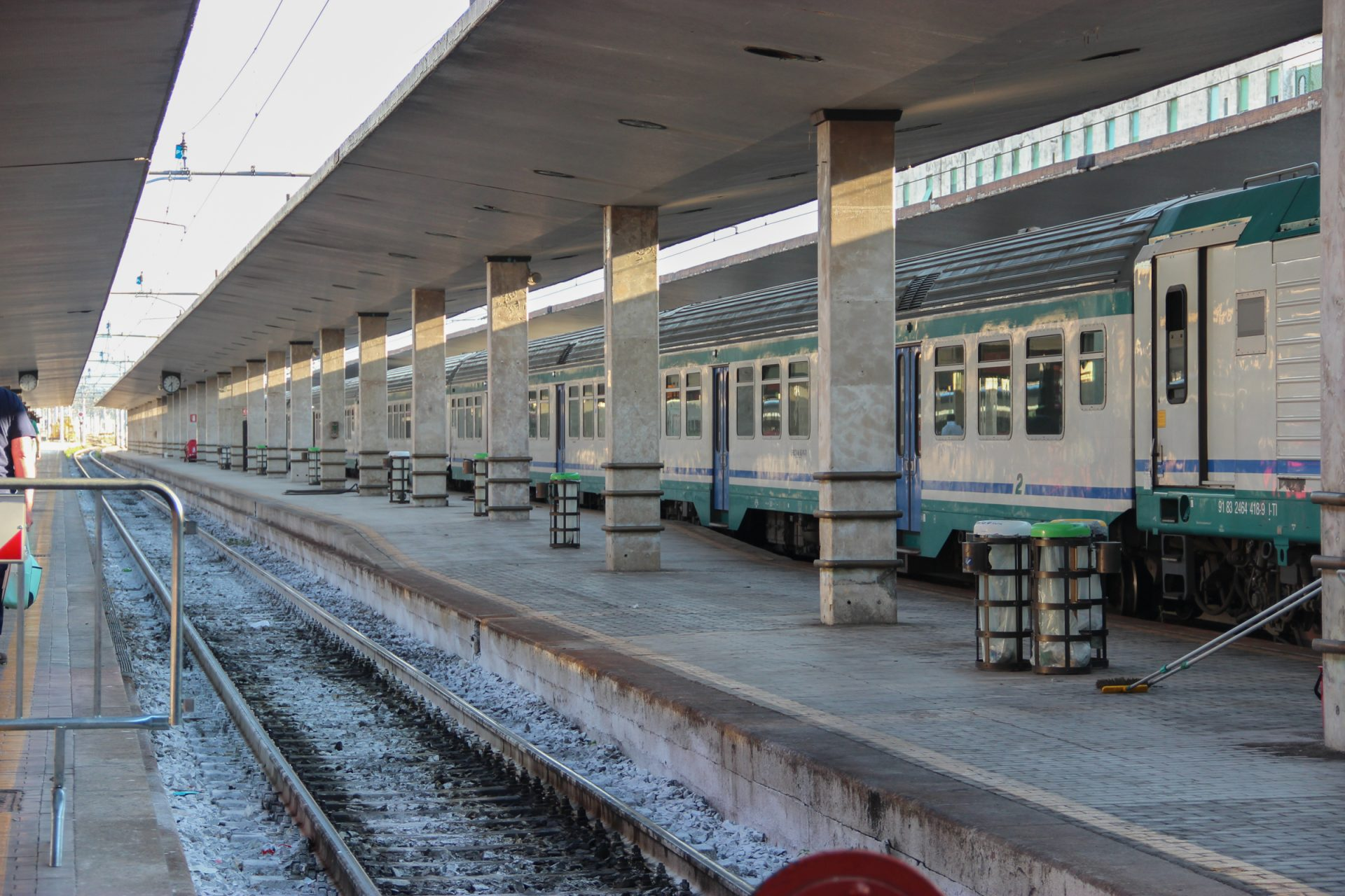 Train & Tracks at Sation