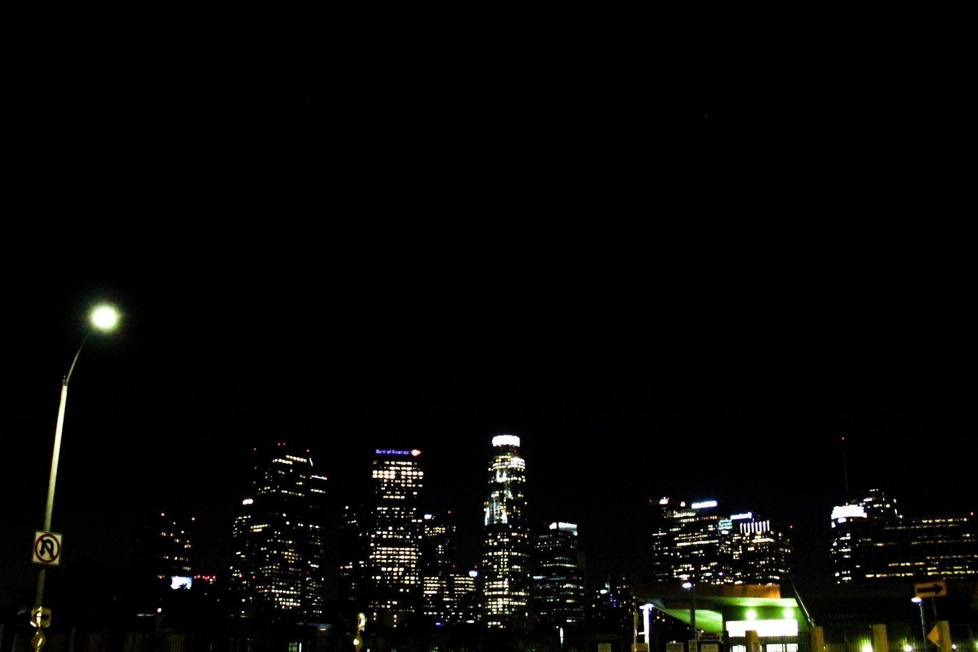 City Buldings At Night