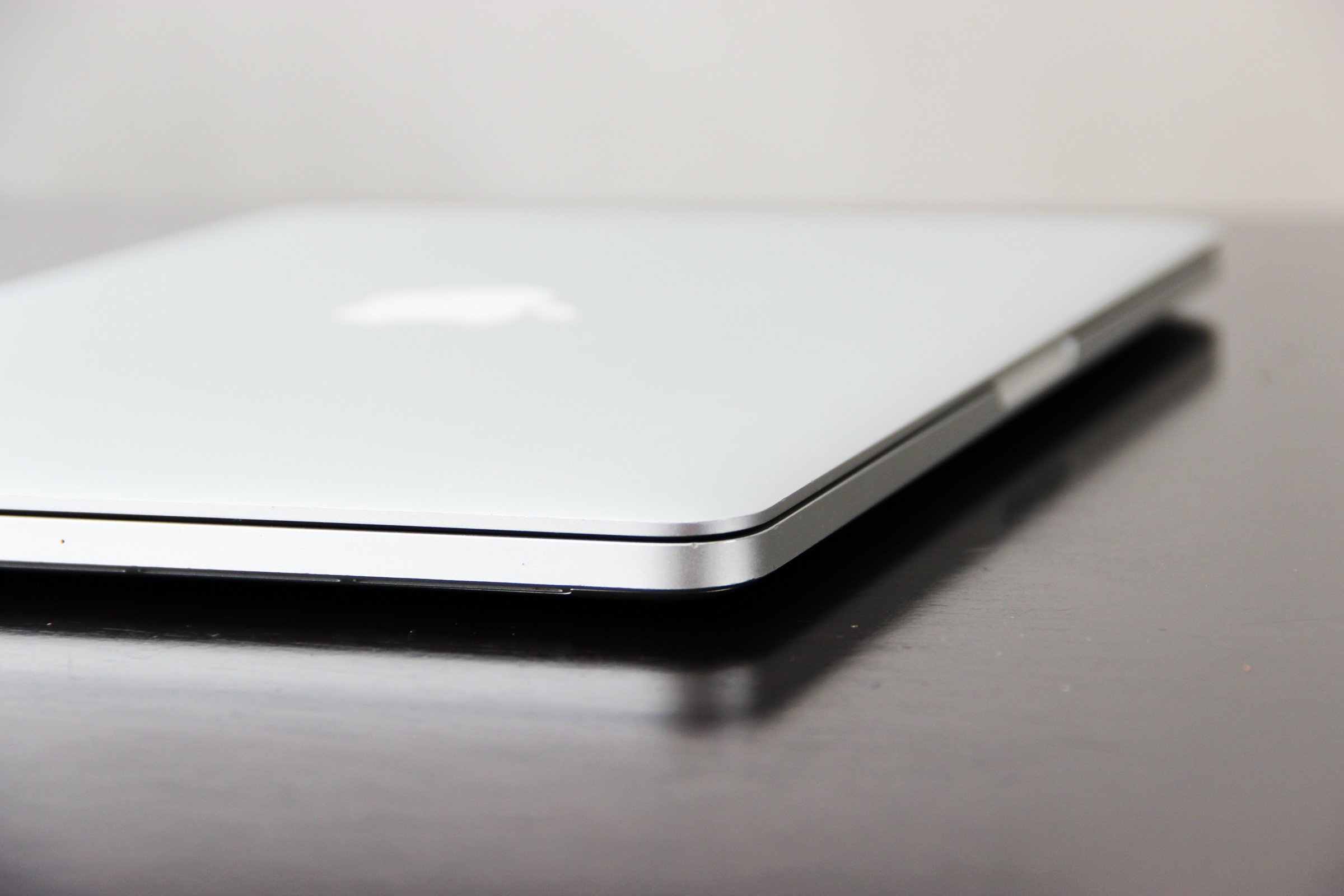 meet best sneakers best deals on Free Stock Photo of Closed Macbook Laptop On Table