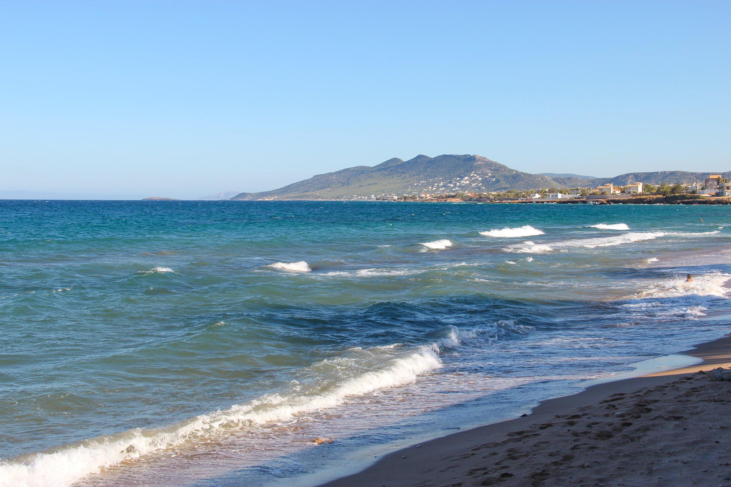 Gentle Waves On Shore