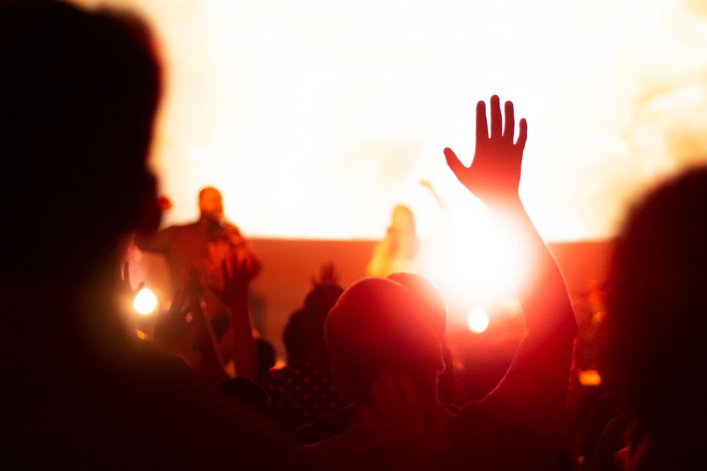 Lights At Concert Stage