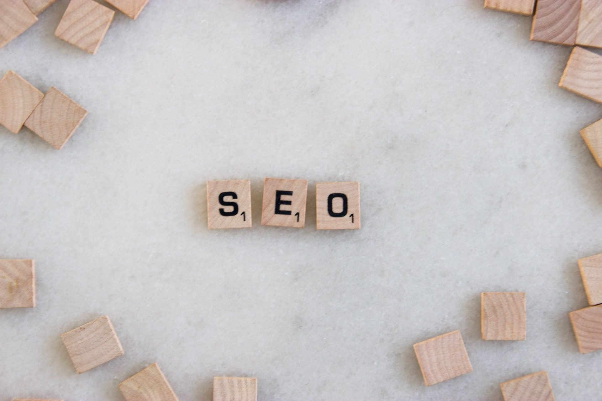 Abbreviation Seo In Scrabble Tiles