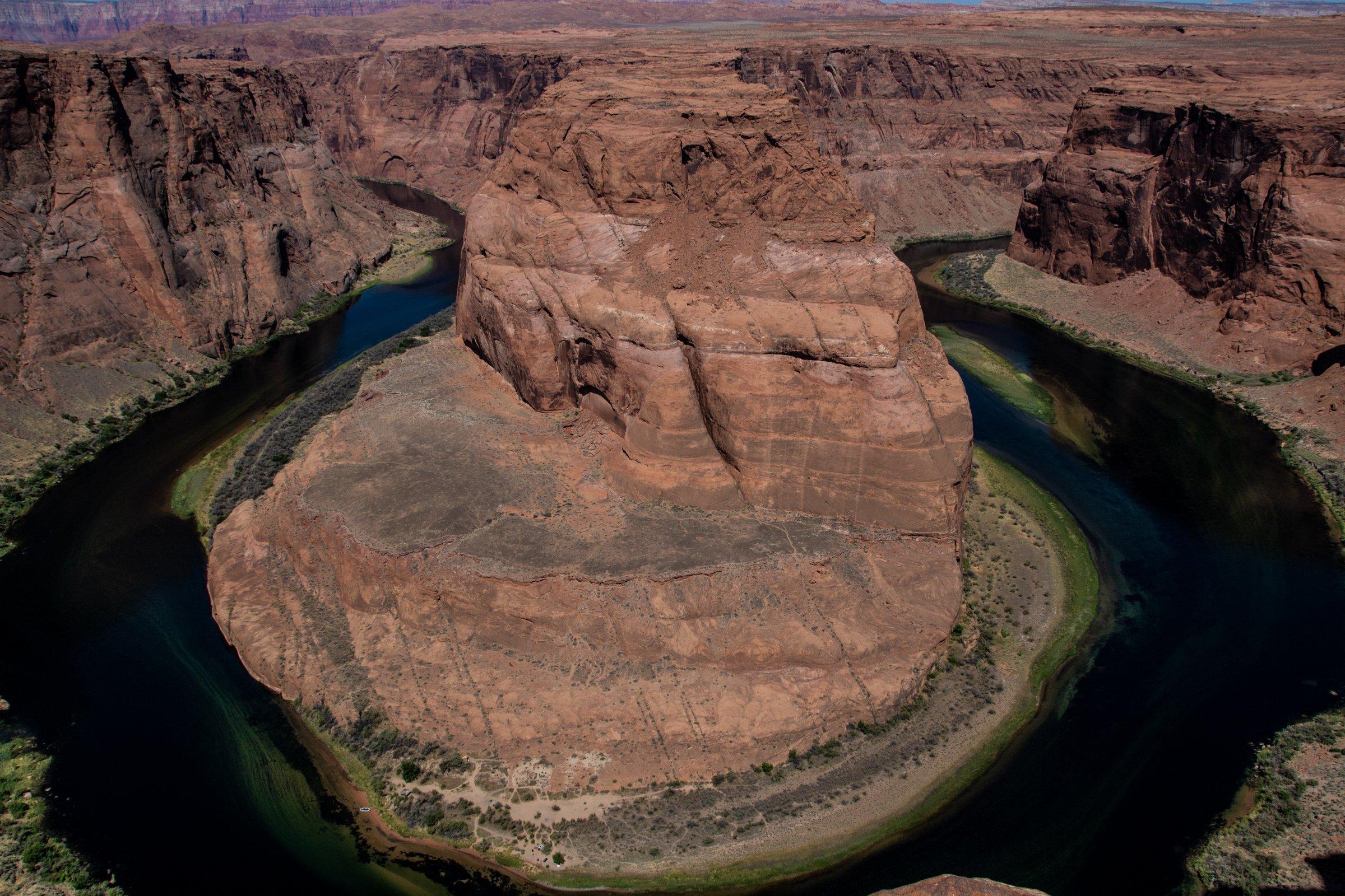 View Of Horseshoe Bend In Arizona