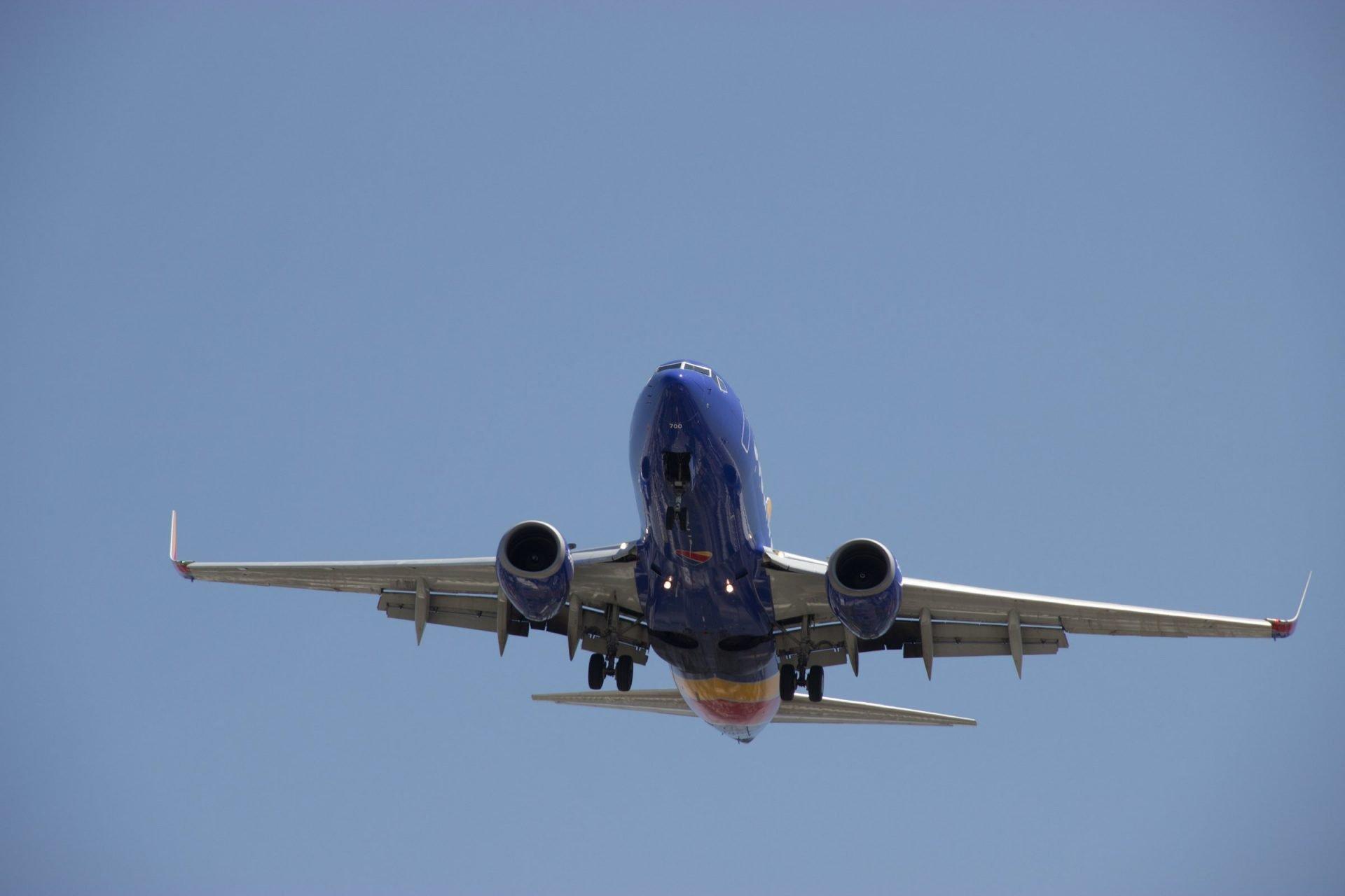 Bottom Of Plane In Sky