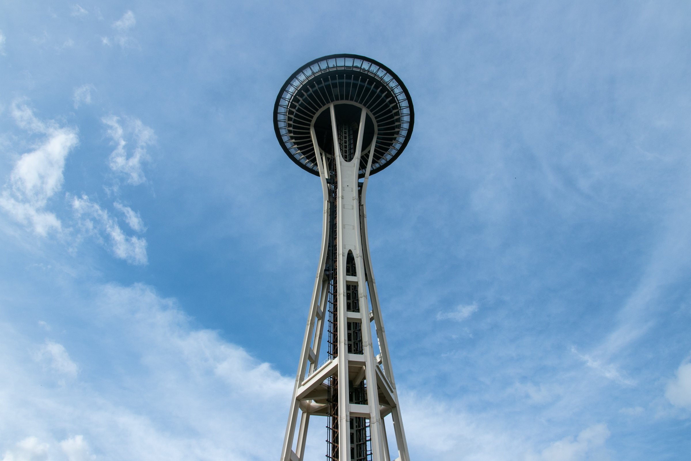 Space Needle Tower Against Sky