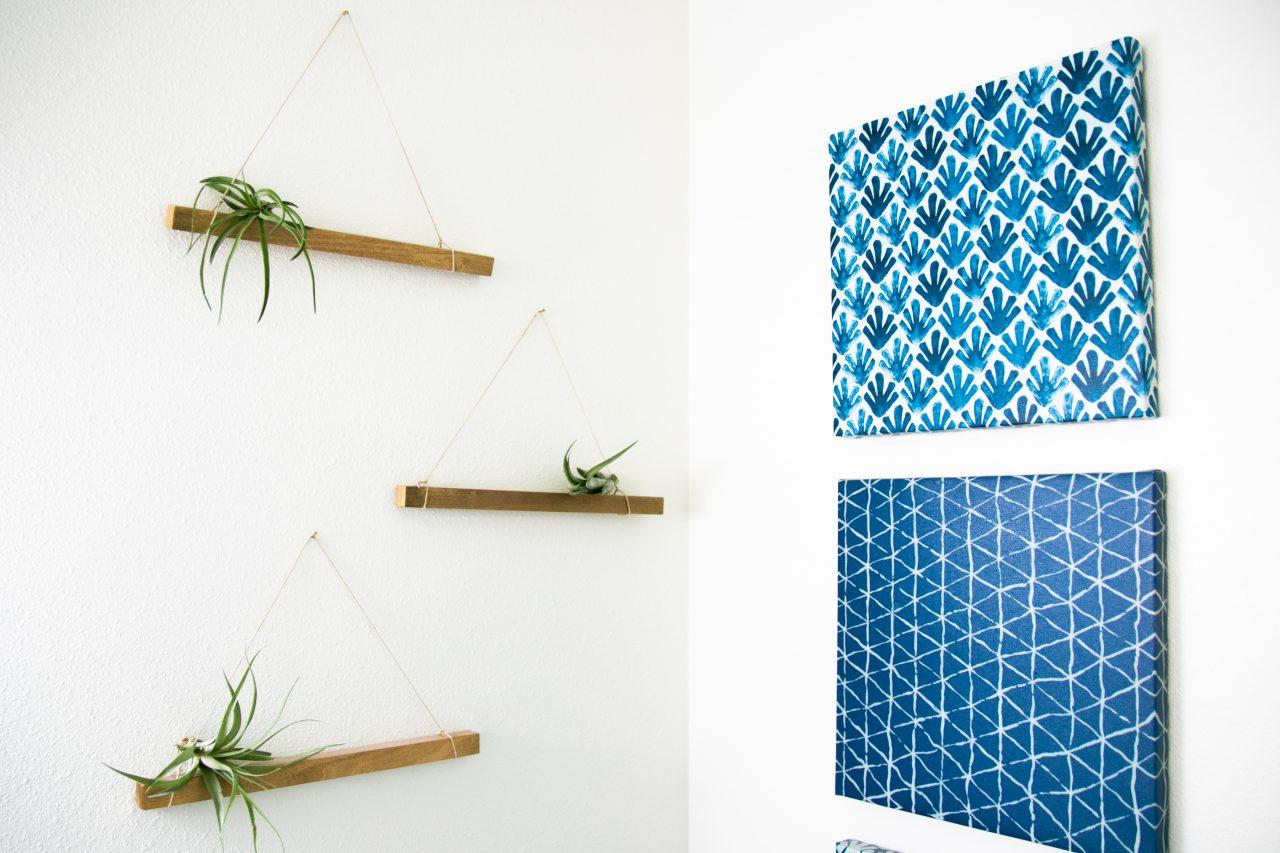 Art And Decorations On Corner Walls