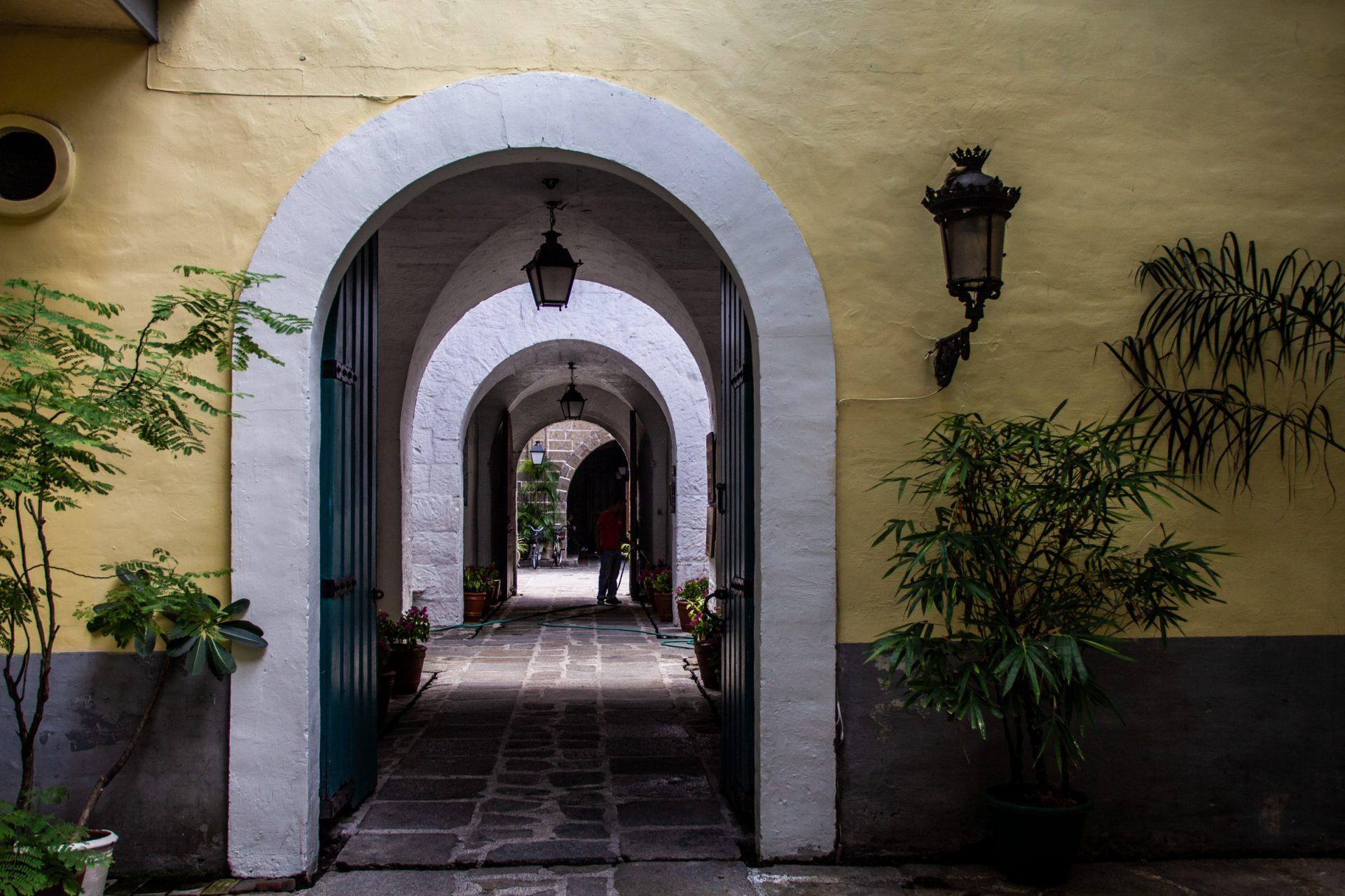 Open Doorways In A Row
