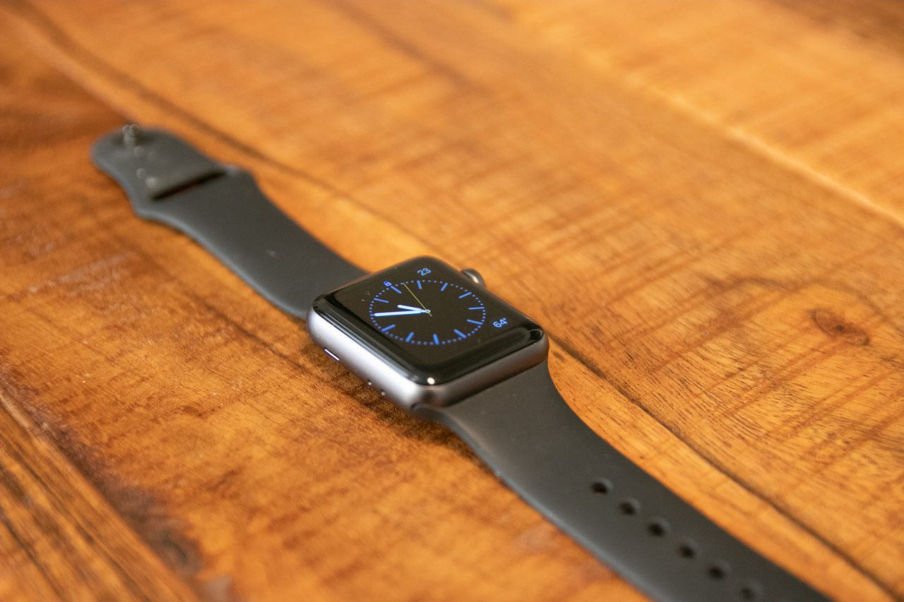 Smart Watch On Wood