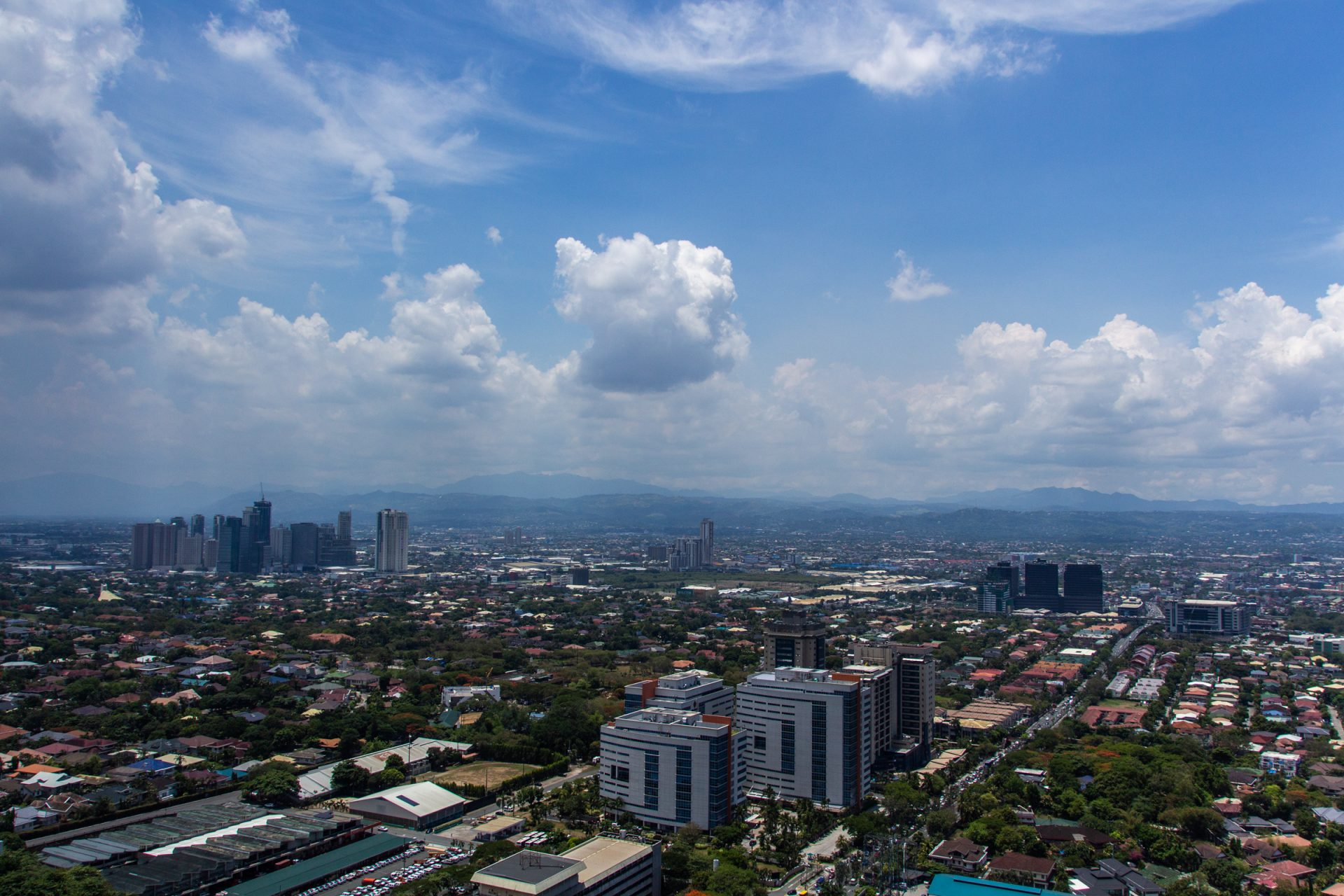 Urban Area In Manila In The Philippines