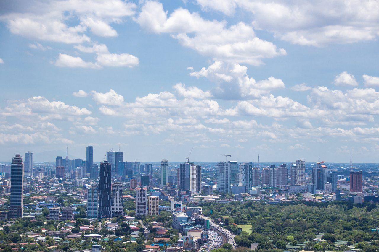 City Skyline With Multiple Tall Buildings
