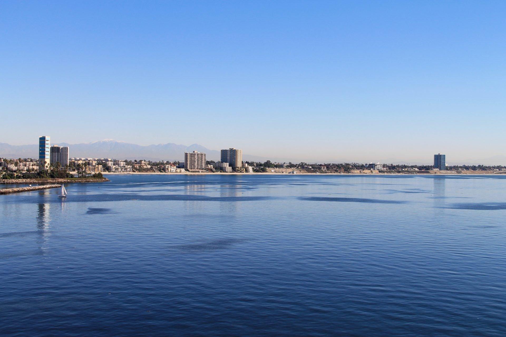 City Skyline on Oceanfront