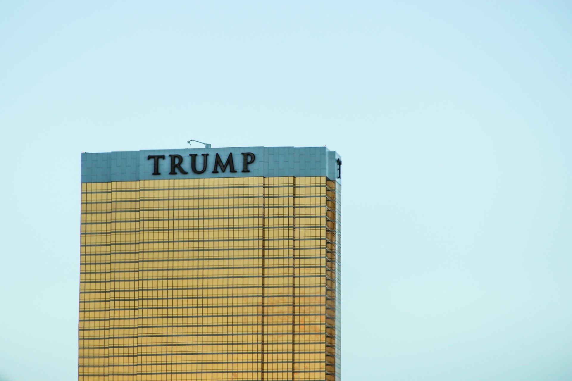 Golden Trump Hotel Building