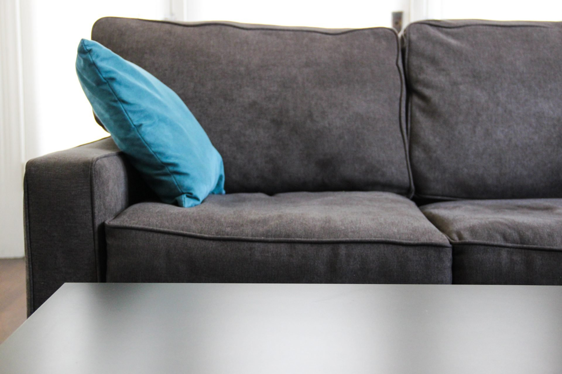 Grey Empty Couch